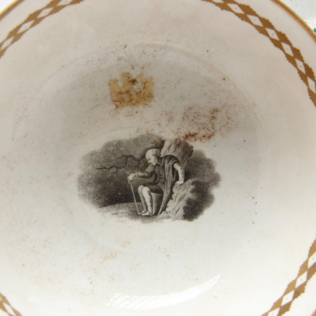 Two Antique Porcelain Dishes - 2