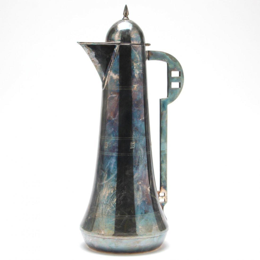 German Art Deco Silverplate Coffee Pot