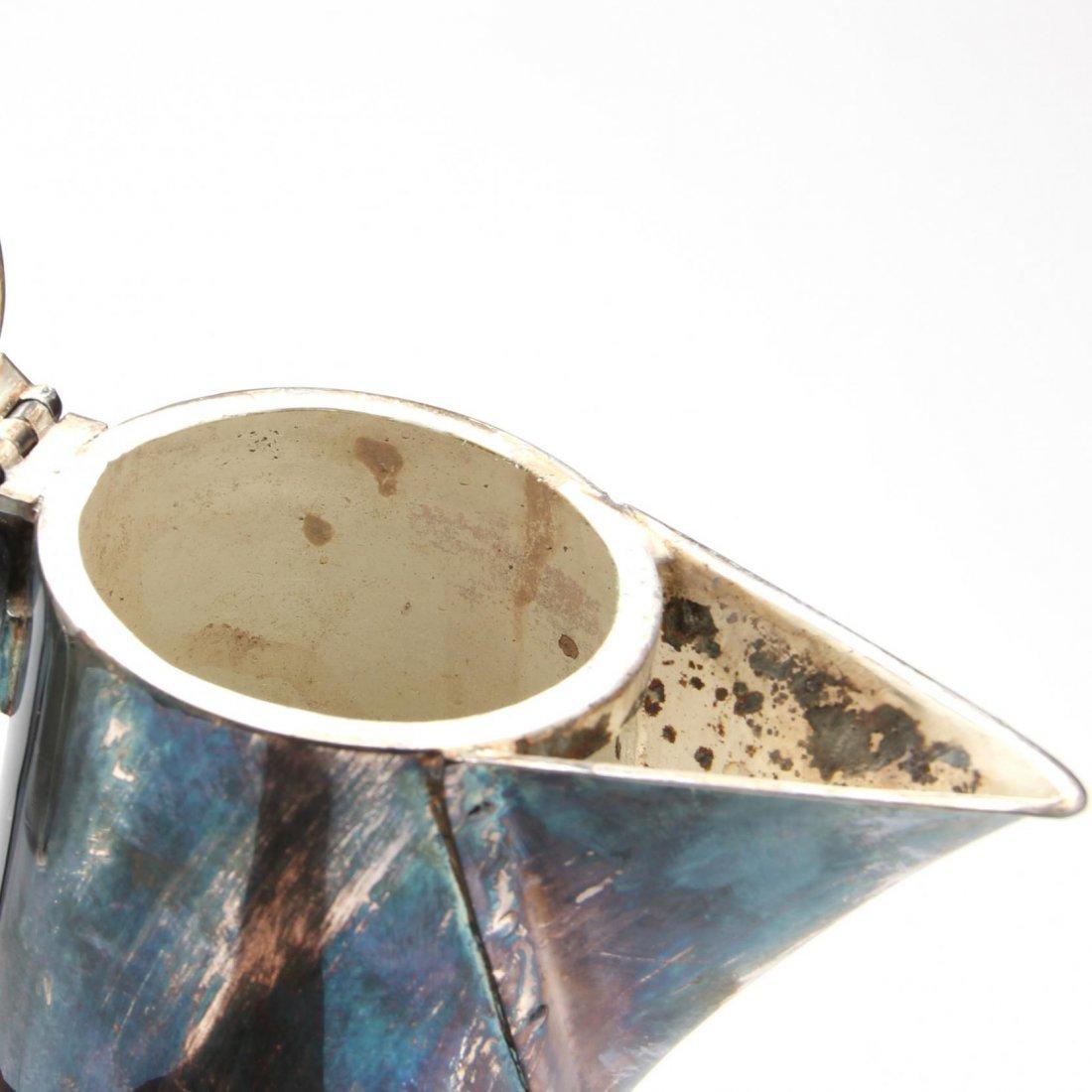 German Art Deco Silverplate Coffee Pot - 2
