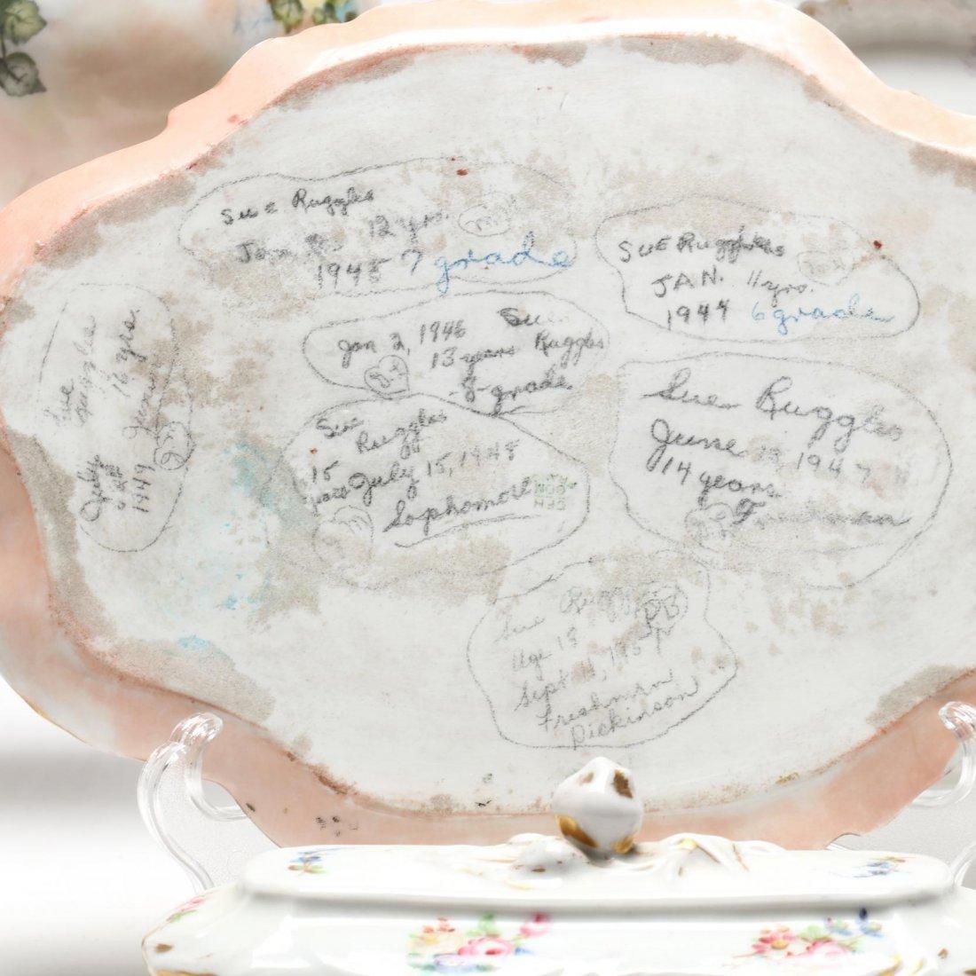 (10 Pcs) Continental Porcelain Group - 2