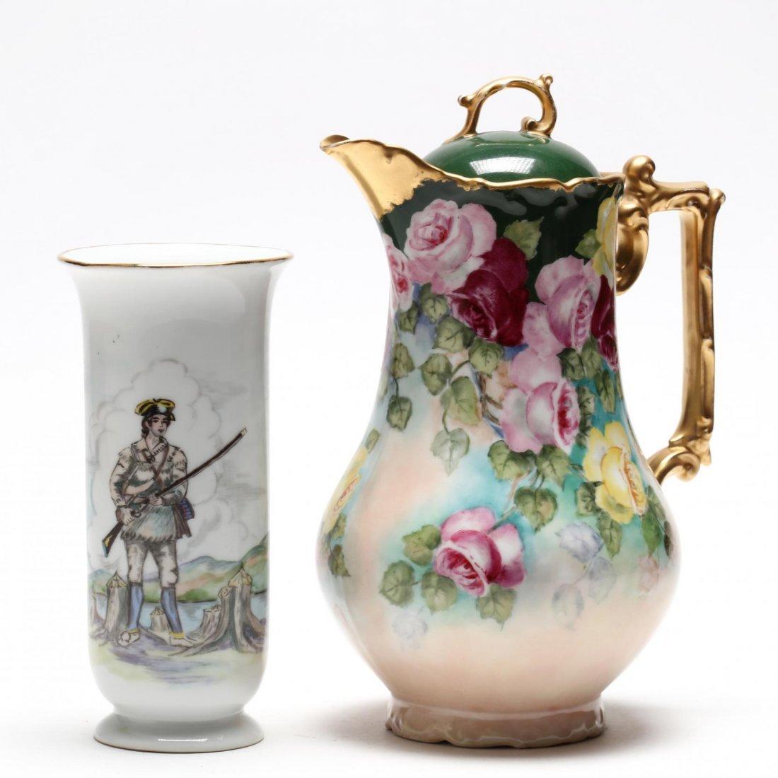 (10 Pcs) Continental Porcelain Group - 3