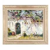 Emile Gruppe MA 18961978  Garden Wall