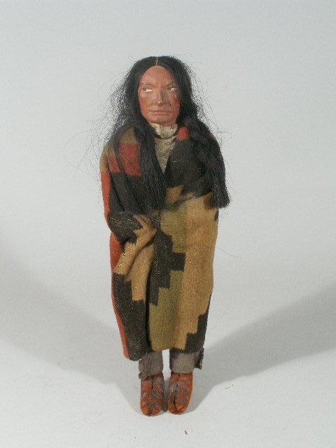 6: Skookum Indian Doll, Early 20th c.,