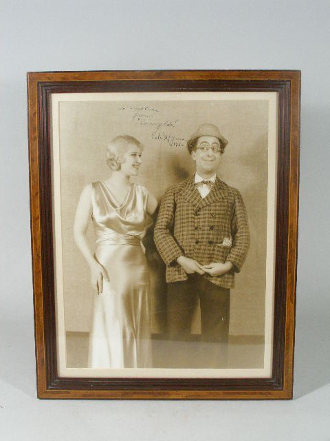 """8: Ed Wynn Photograph Inscribed """"To Mother From 'Sonny"""
