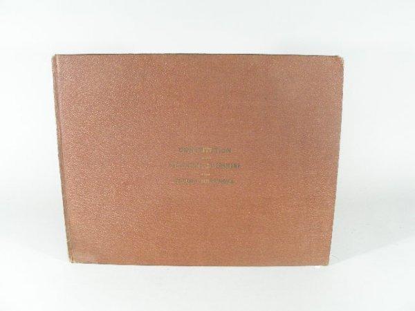 19: Book, Constitution, Confederate States of America,