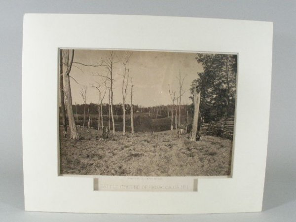 20: Civil War Albumen Photograph by George N. Barnard,