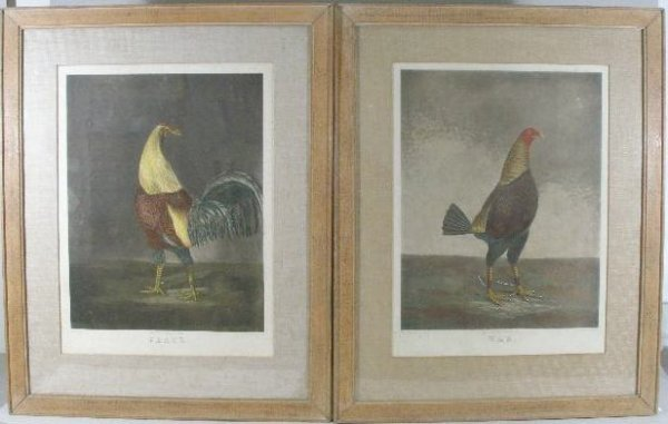 24: Pair of Early 19th c. Color Engravings, After Benja