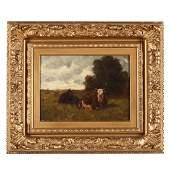19th Century Barbizon School Painting