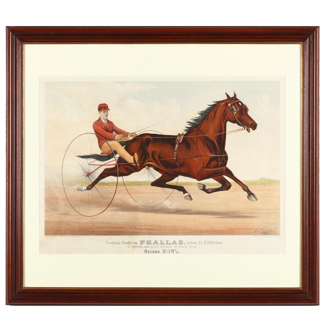 "Currier & Ives Print ""Phallas"" (1883)"