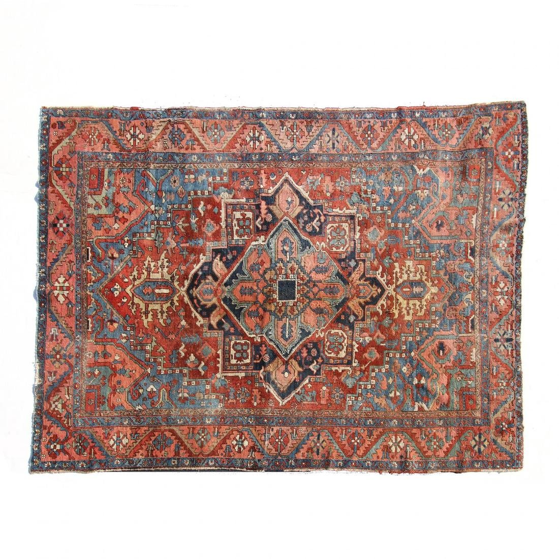 Vintage Heriz Carpet