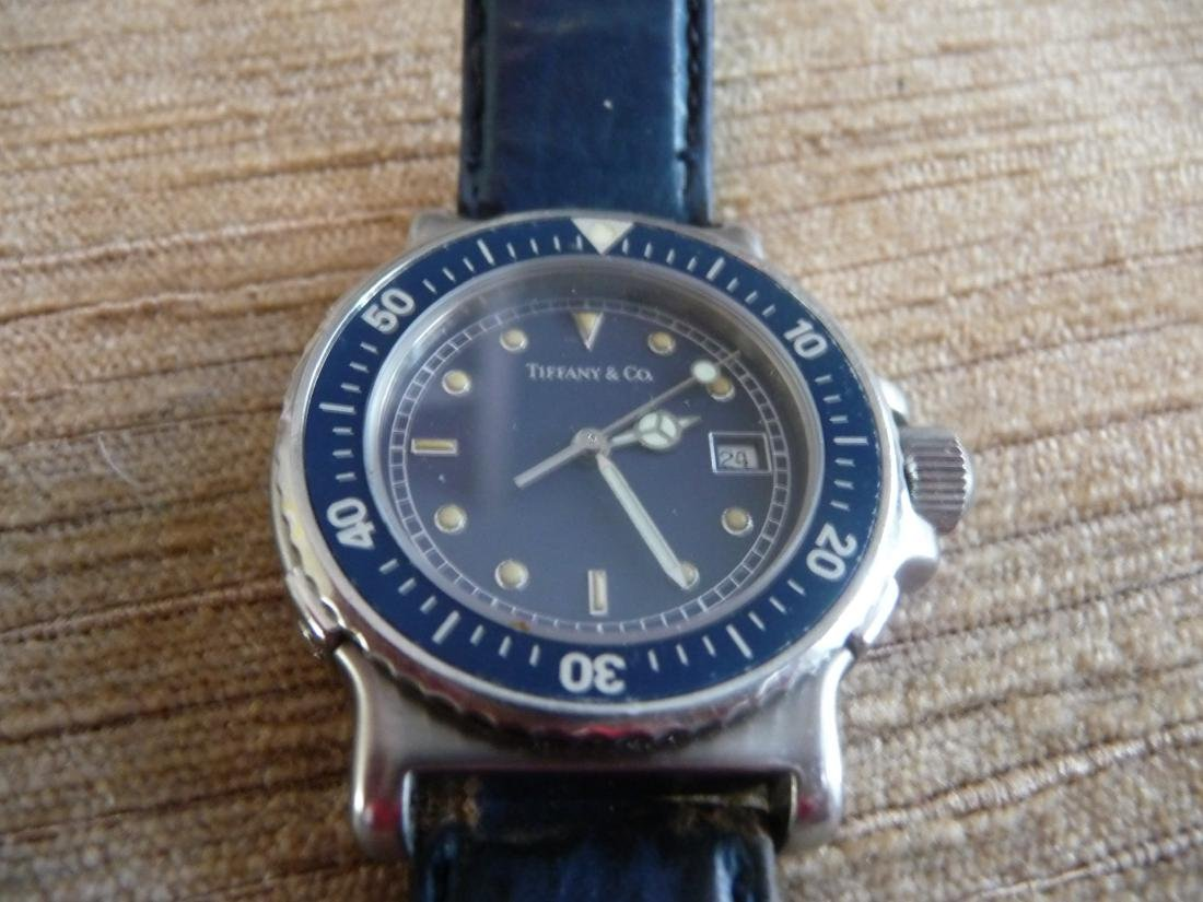 TIFFANY & CO DIVERS WATCH