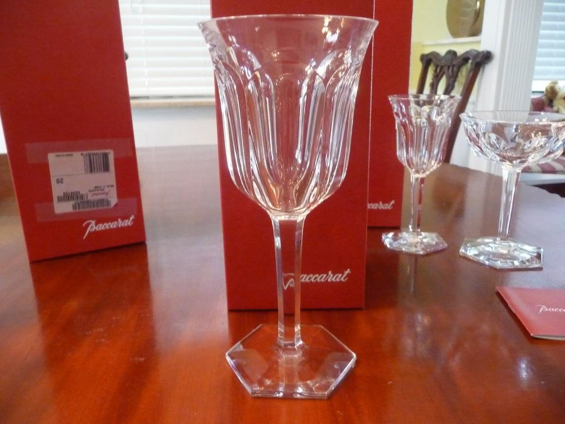 BACCARAT CRYSTAL MALMAISON COMPLETE SET OF 60 GLASSES - 3