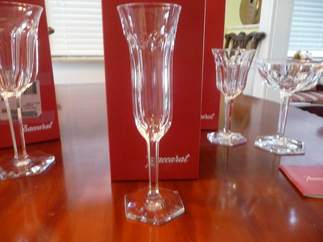 BACCARAT CRYSTAL MALMAISON COMPLETE SET OF 60 GLASSES - 4