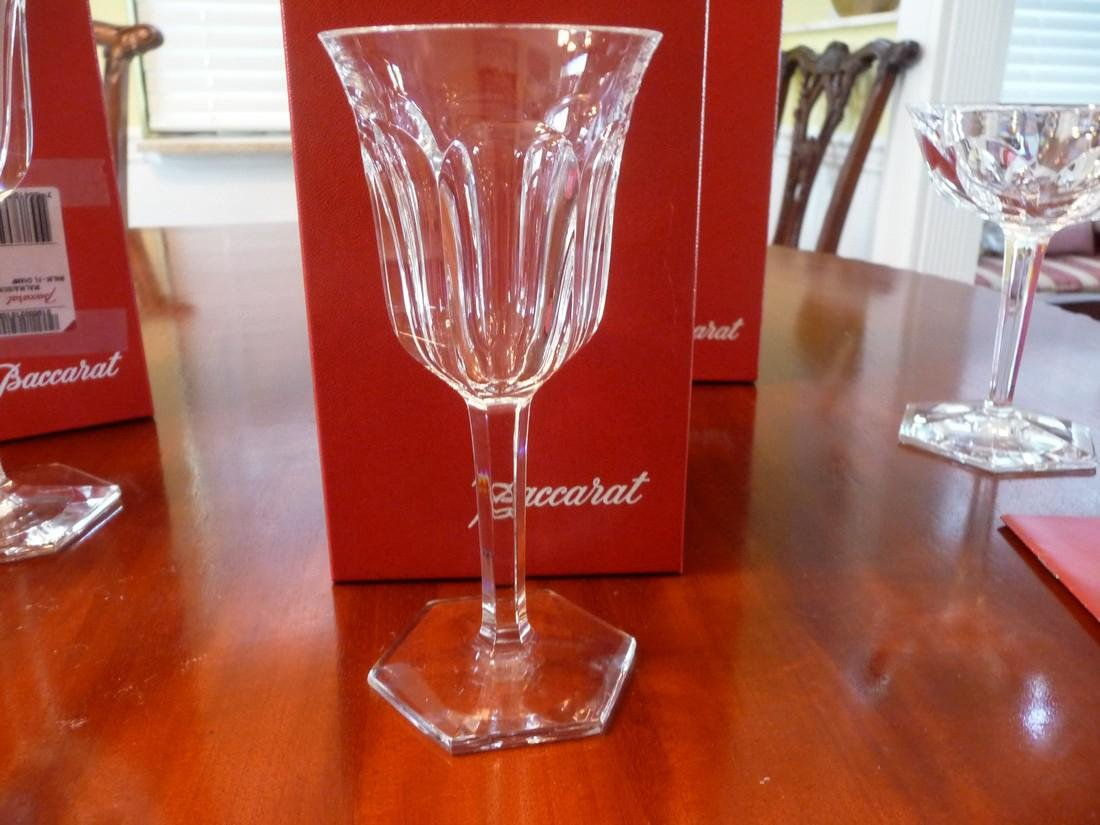 BACCARAT CRYSTAL MALMAISON COMPLETE SET OF 60 GLASSES - 6