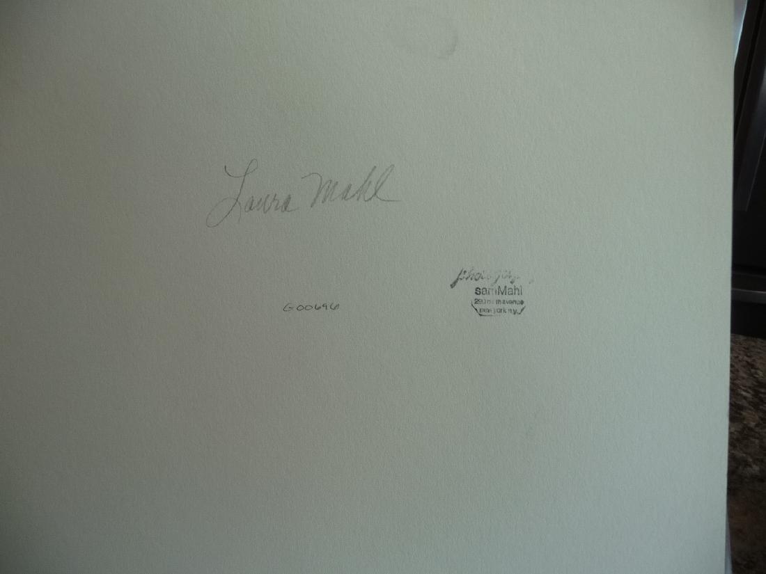 "FAMED SAM MAHL PHOTO \"" LOOKING THROUGH WOODEN SLATS"" - 3"