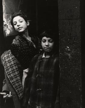 "FAMED SAM MAHL PHOTO ""GYPSY CHILDREN"" CIRCA 1949"