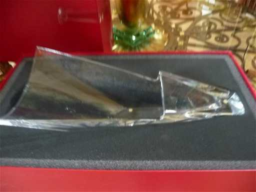 Baccarat Crystal Large Diva Vase New In Box