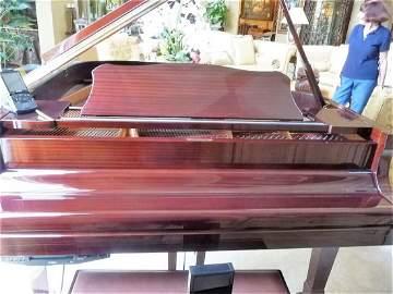 YAMAHA GRAND PLAYER PIANO -POLISHED MAHOGANY