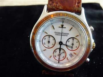 JAEGER LECOULTRE HERAION CHRONOGRAPH DATE WATCH
