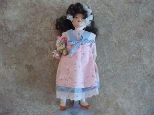 BRIGITTE REPRENSENTING FRANCE VINTAGE COLLECTIBLE DOLL
