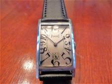 PIAGET ART NOUVEAU WATCH w/ EXAGGERATED NUMBERS