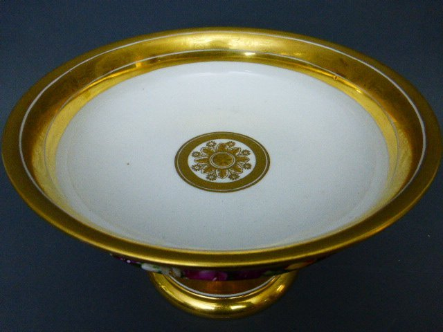EMPIRE STYLE PARIS PORCELAIN TAZZA