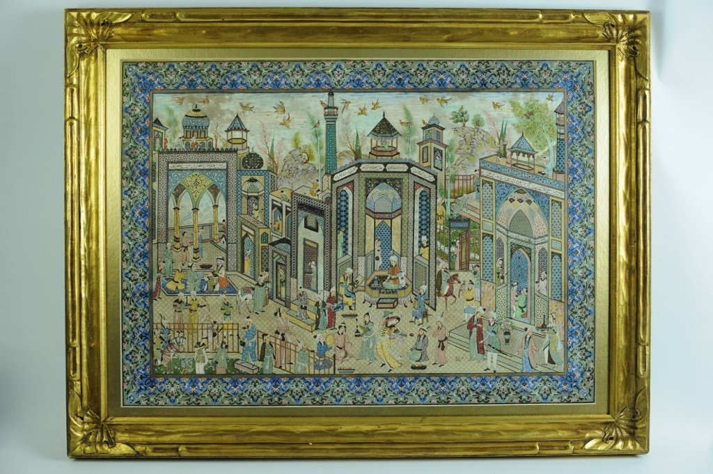 MAGNIFICENT PERSIAN MINIATURE SIGNED ROHANI