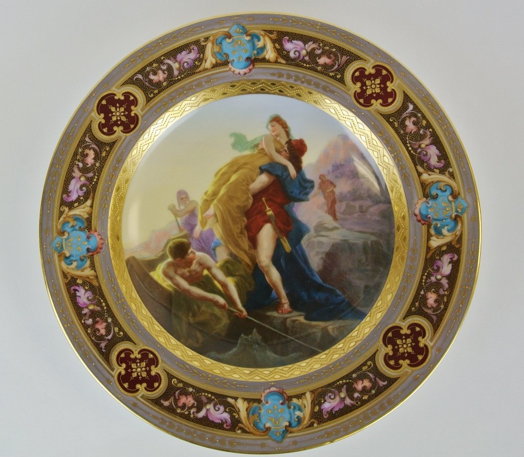 19TH CENTURY ROYAL VIENNA PLATE