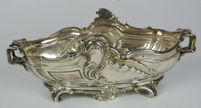 19TH CENTURY FRENCH SILVER BOWL SIGNED ODIOT