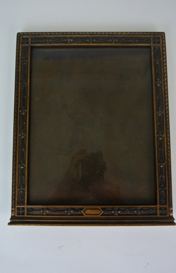 TIFFANY & CO BRONZE PICTURE FRAME