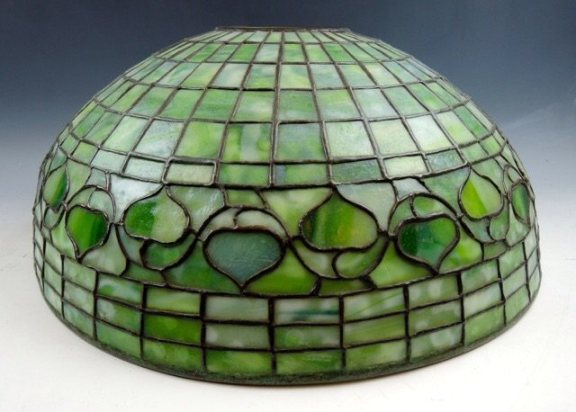 AUTHENTIC TIFFANY ACORN LEADED LAMP SHADE