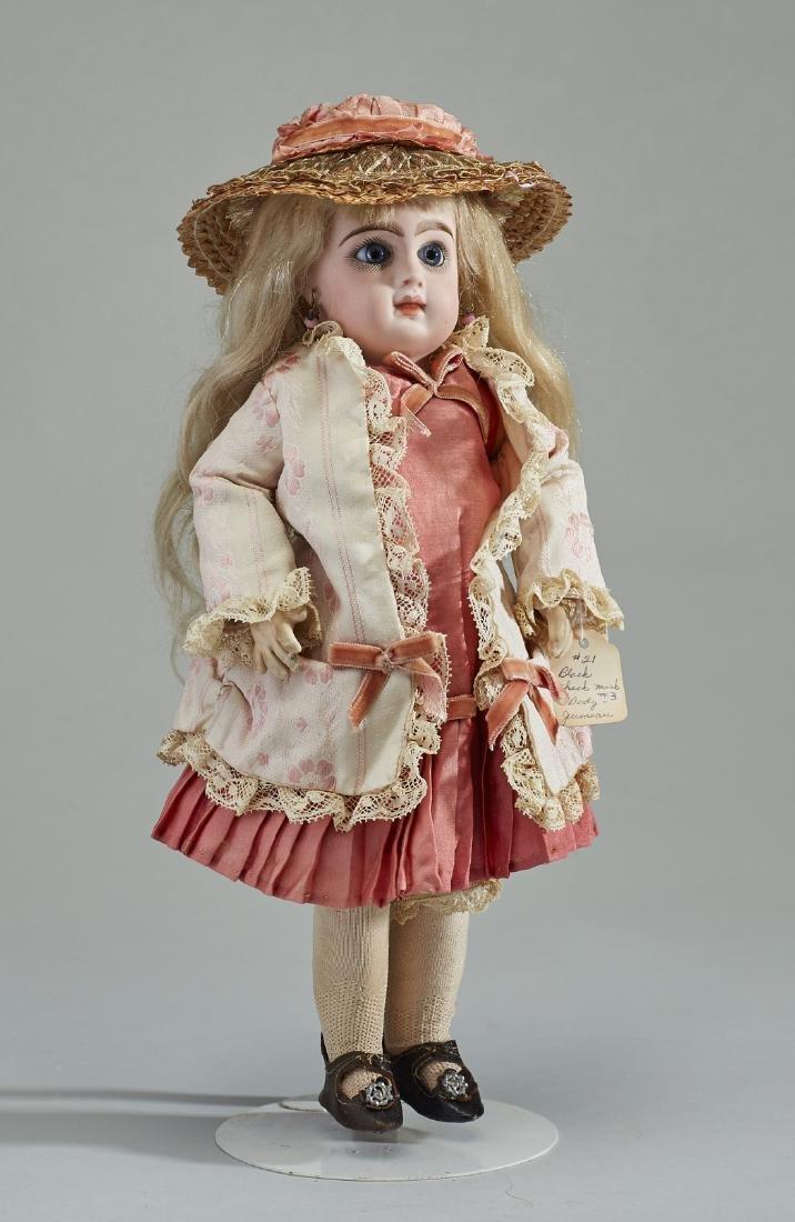 Antique 19C Emile Jumeau French Bebe Bisque Doll