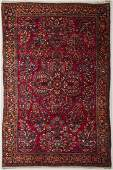 Old 1920's Persian Sarouk Hand Made Oriental Rug