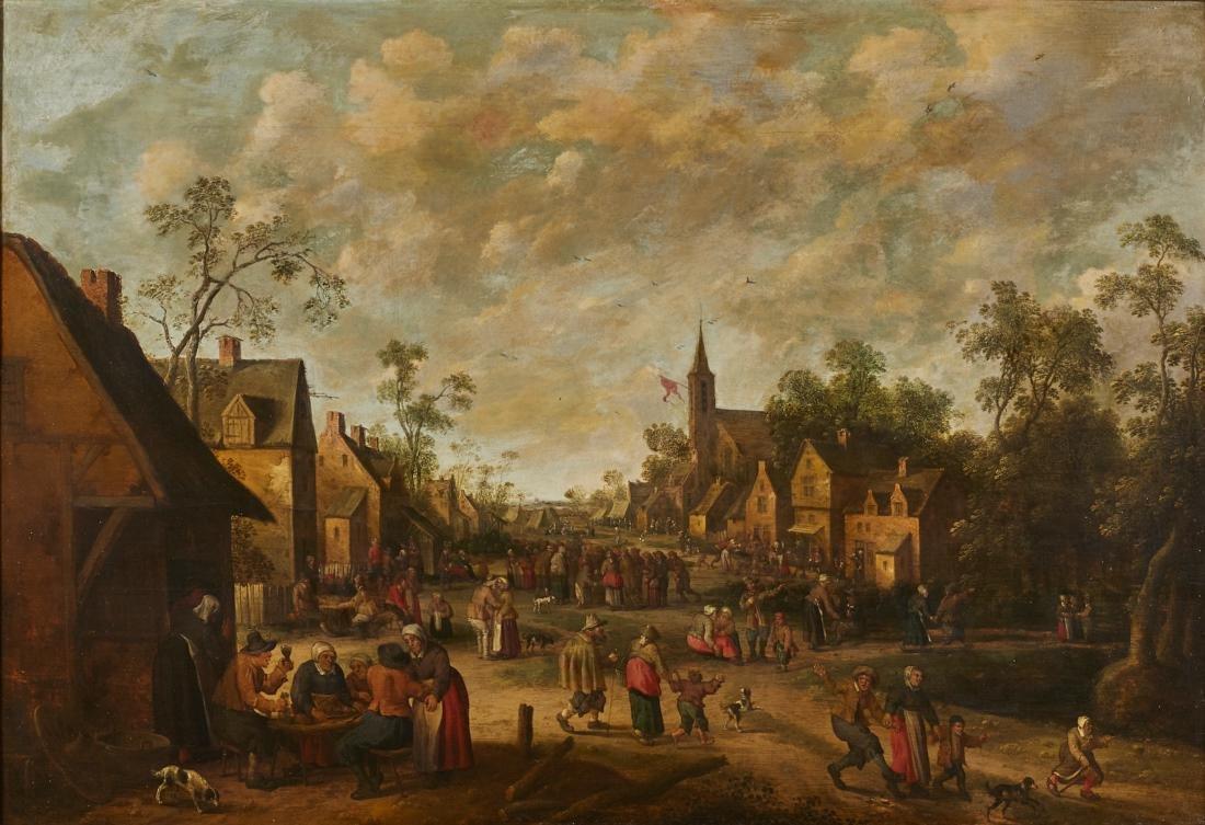 Joost Cornelisz Droochsloot 17C Dutch Oil Painting