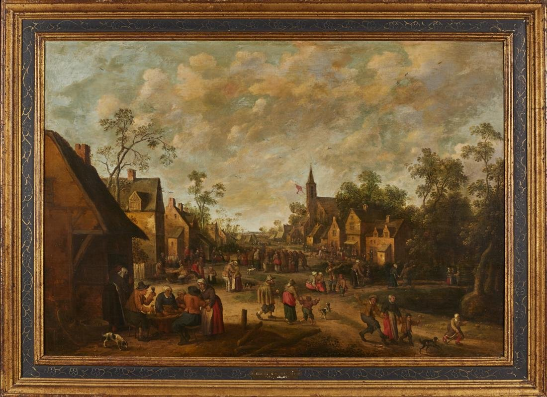 Joost Cornelisz Droochsloot 17C Dutch Oil Painting - 2