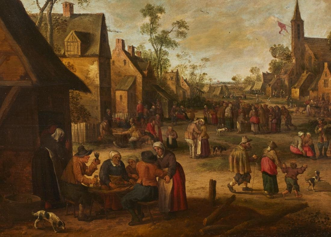 Joost Cornelisz Droochsloot 17C Dutch Oil Painting - 3