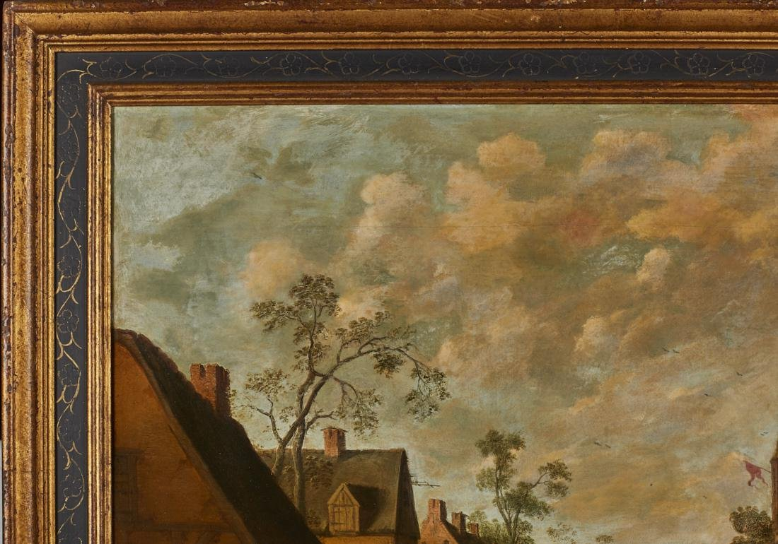 Joost Cornelisz Droochsloot 17C Dutch Oil Painting - 4