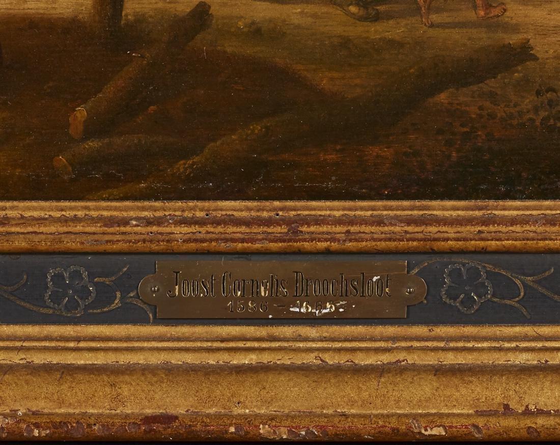 Joost Cornelisz Droochsloot 17C Dutch Oil Painting - 5