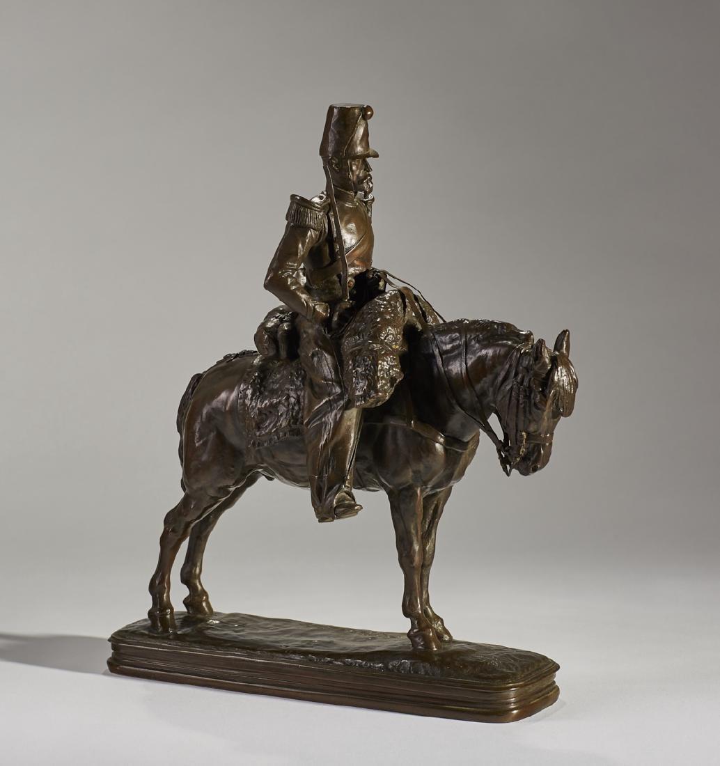 Emmanuel Fremiet - French Bronze Soldier Horseback