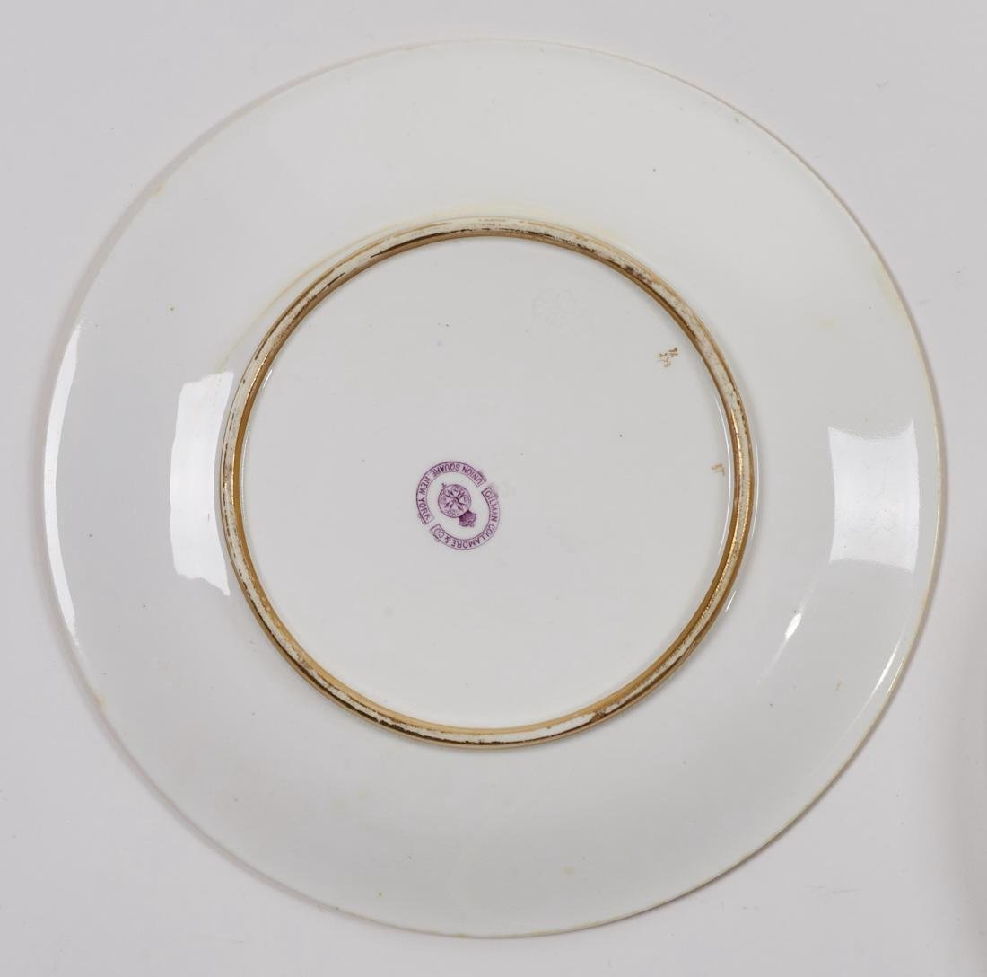 Royal Worcester 19C Aquatic Flora Sealife Plates - 8