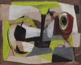James Brooks (American, 1906-1992) Abstract Painting