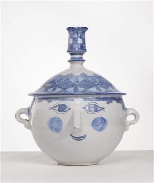 "Bjorn Wiinblad Denmark Danish 14"" Pottery Ceramic"