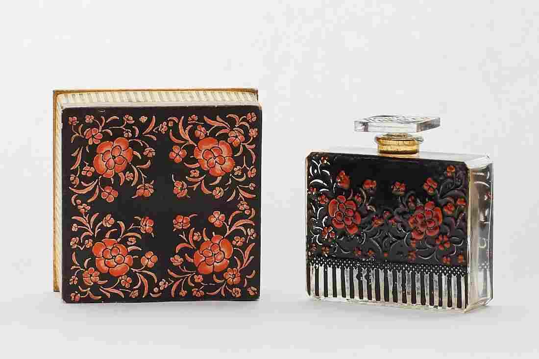 Rare 1920s Lalique Perfume Bottle Raquel Meller
