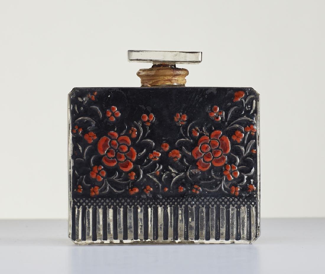 Rare 1920s Lalique Perfume Bottle Raquel Meller - 2