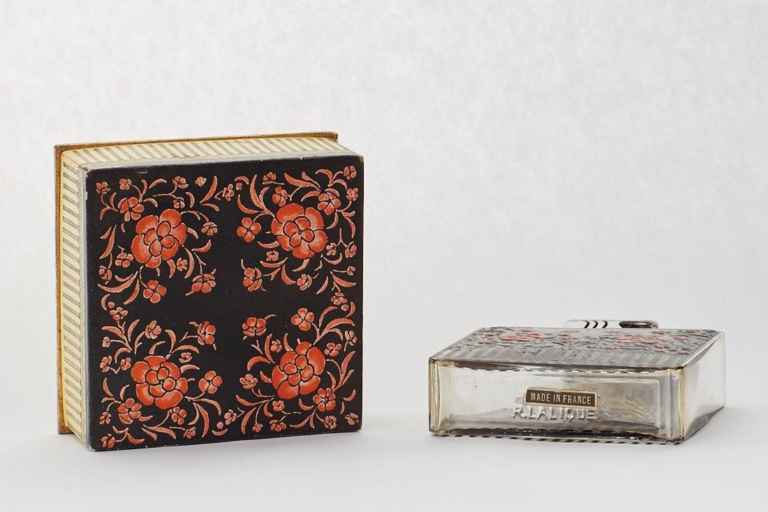 Rare 1920s Lalique Perfume Bottle Raquel Meller - 4