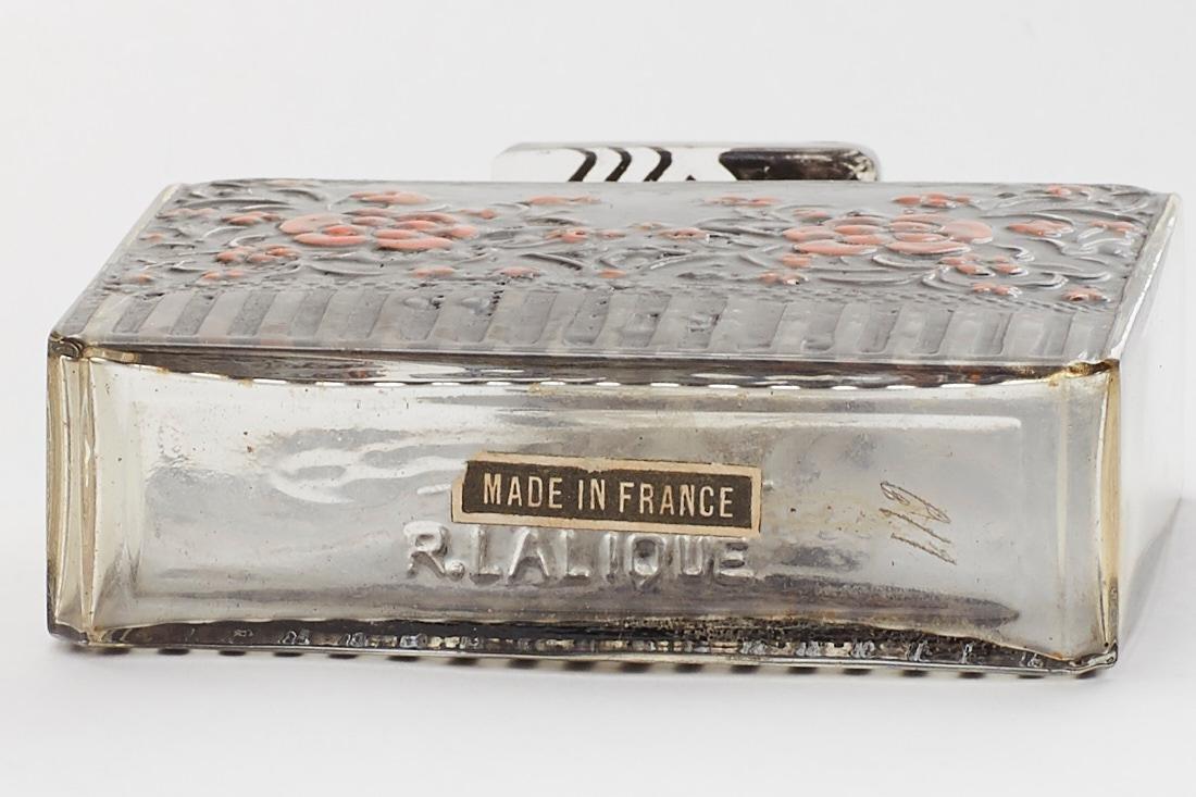 Rare 1920s Lalique Perfume Bottle Raquel Meller - 5