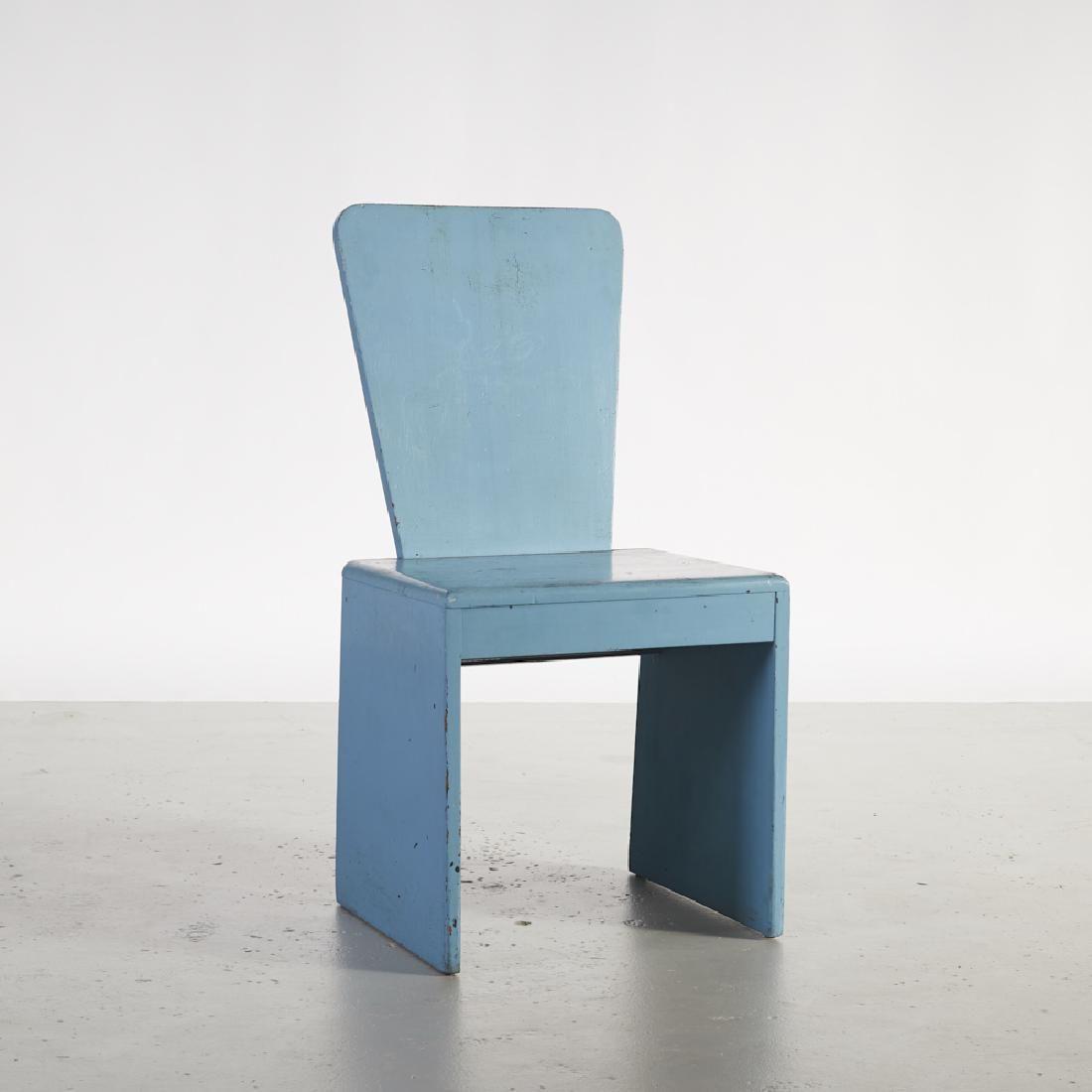 Leon Polk Smith (1909-1996) Constructivist Chair