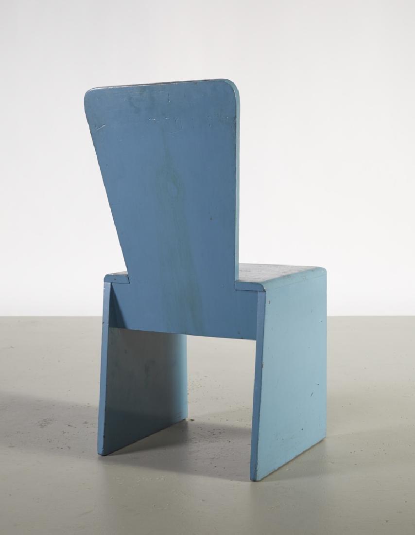 Leon Polk Smith (1909-1996) Constructivist Chair - 2