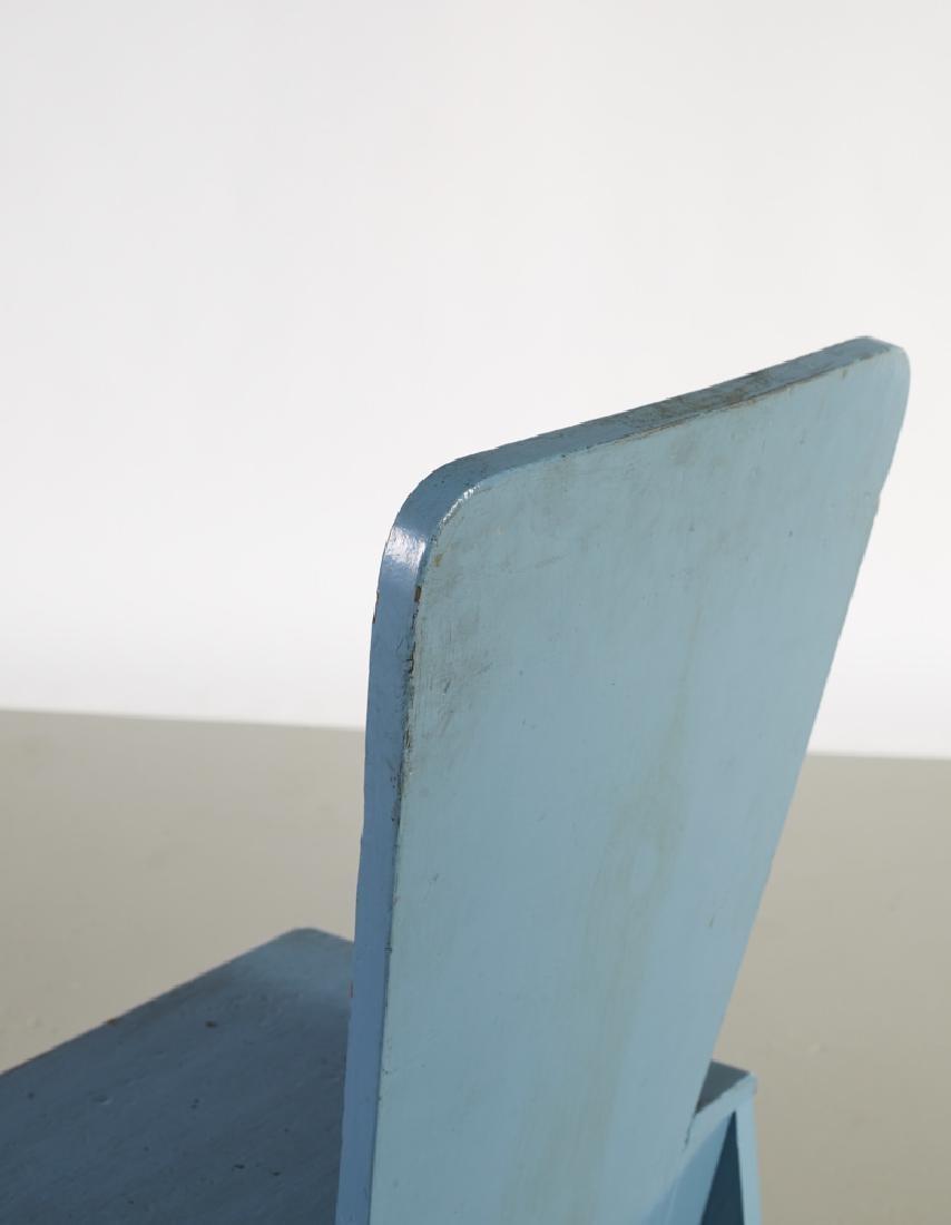 Leon Polk Smith (1909-1996) Constructivist Chair - 5