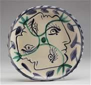 Pablo Picasso 18871973 Madoura Signed Plate